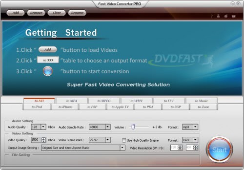 Ghacks Giveaway DVDFast Video Converter PRO
