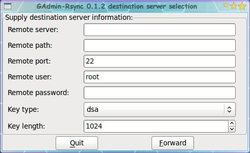 Create rsync backups easily with the help of Gadmin-rsync - gHacks