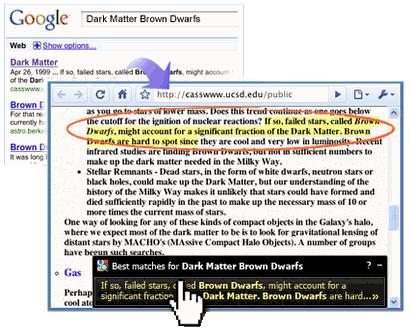 google quick scroll