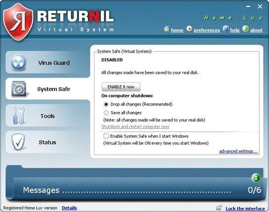 returnil