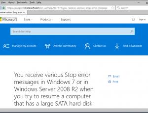 windows 7 stop error