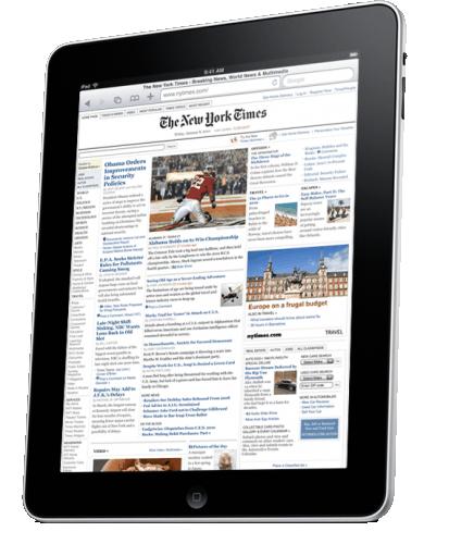 iPad (Apple Tablet) Details
