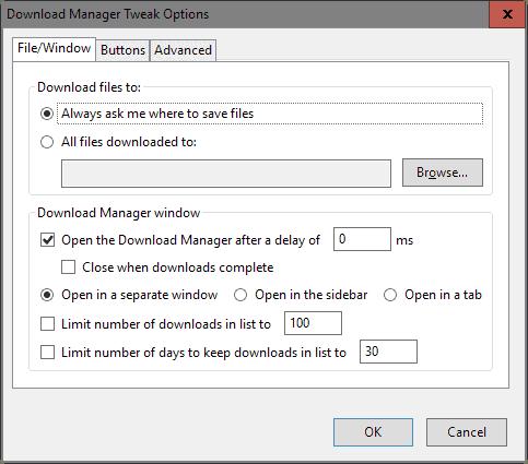firefox downloads tabs sidebar