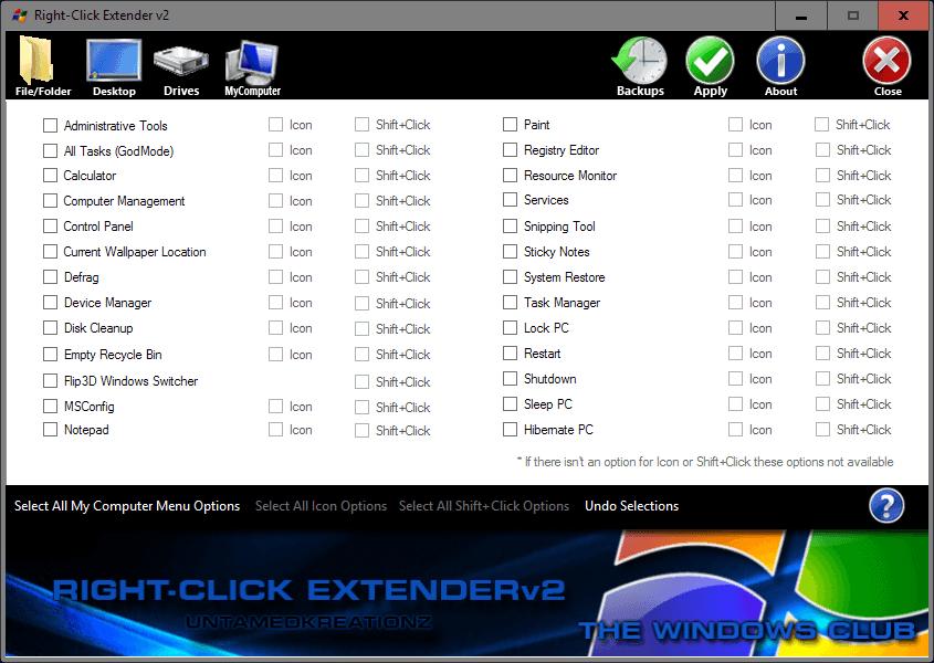 right-click extender 2
