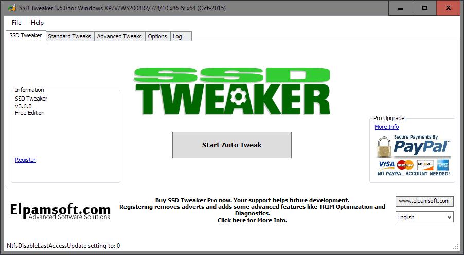 SSD Tweaker review - gHacks Tech News