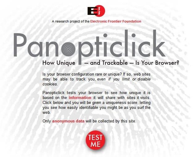 How Unique Is Your Web Browser's Fingerprint?