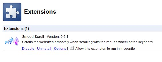 allow extensions incognito mode
