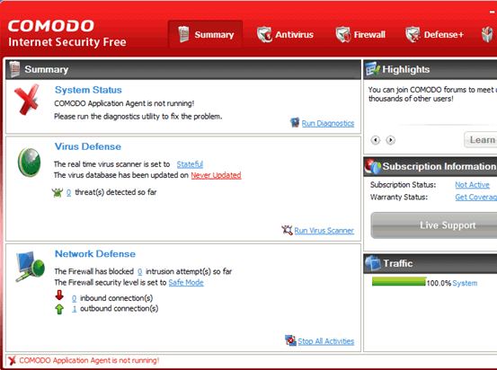 Comodo Internet Security 4 Download