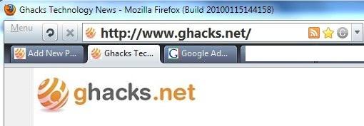 firefox change address bar font size