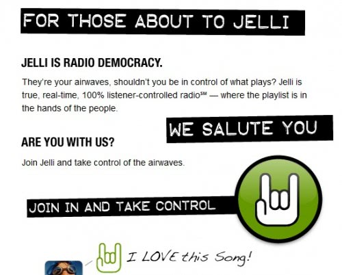Jelli User-Generated Internet Radio Stations