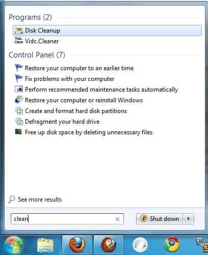 How To Clean Hard Drives In Windows 7 - gHacks Tech News
