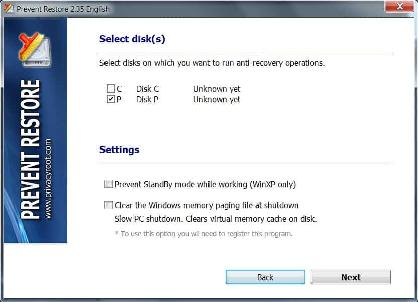 disk wipe