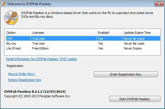 DVDFab Passkey Removes DVD And Blu-Ray Protections On The