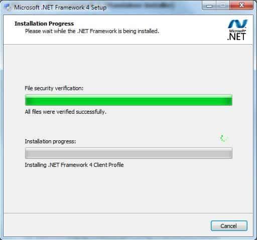 microsoft net framework 4