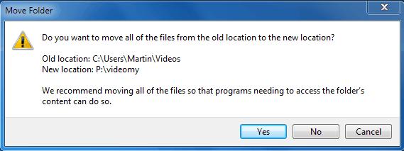 move folder