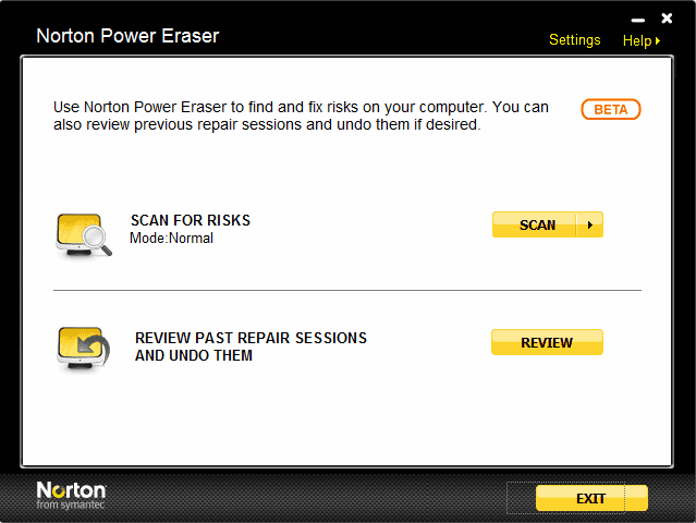 norton power eraser download