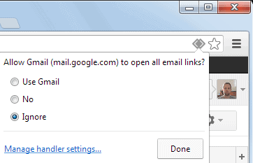 open gmail in chrome
