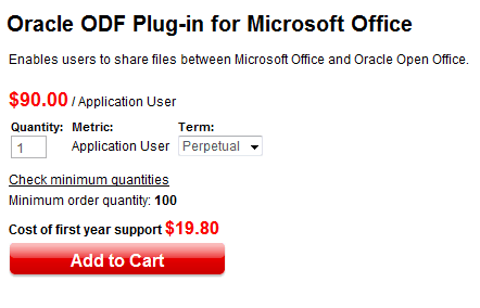 oracle odf plugin