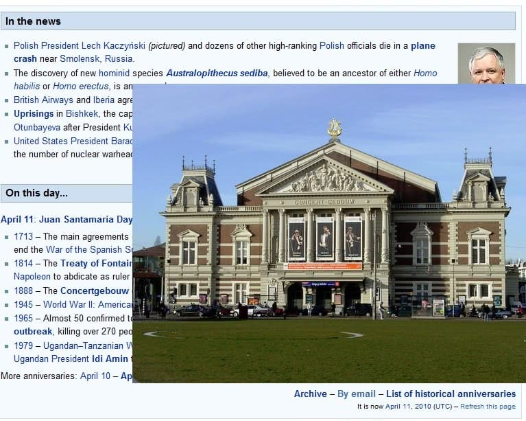 wikipedia images