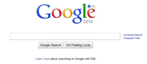 google secure search