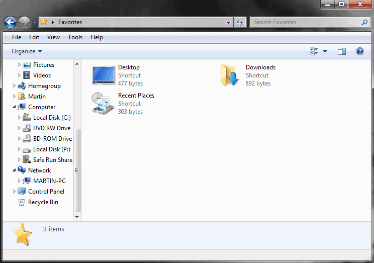 Display Recycle Bin In Windows Explorer