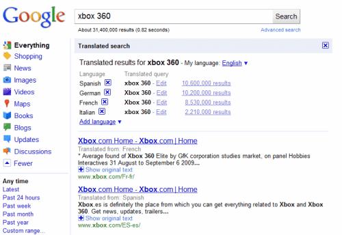 search translate