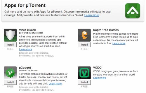 utorrent apps