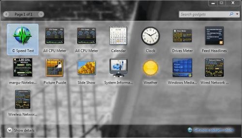 windows 7 aero blur