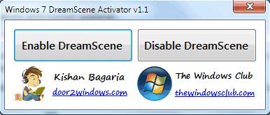 windows 7 dreamscene activator