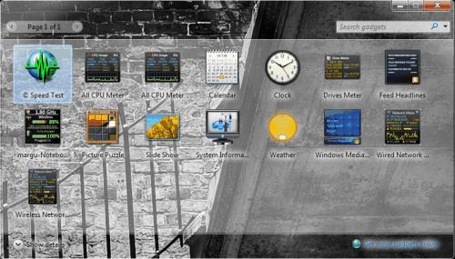 windows 7 no aero blur