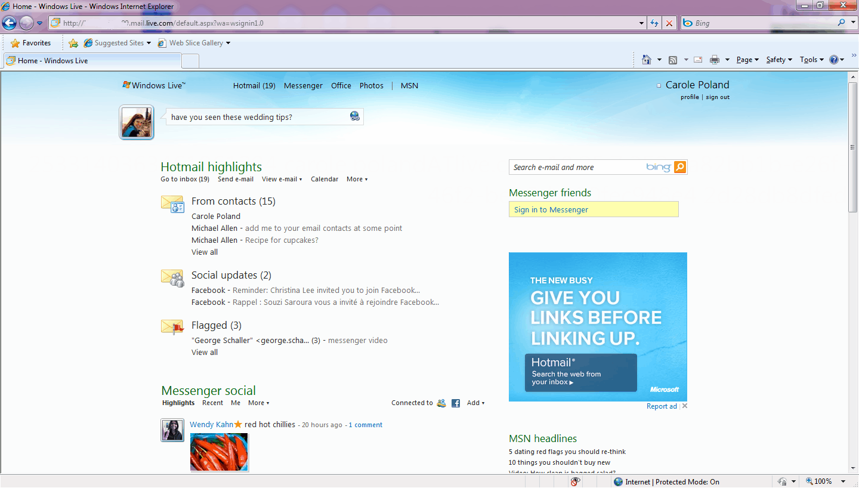 New Windows Live Hotmail Rollout begins - gHacks Tech News