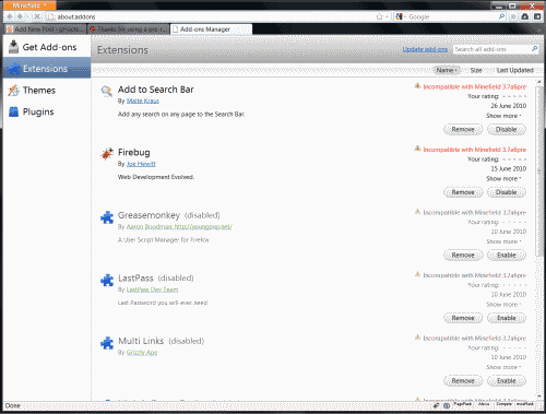 firefox 4 addons manager