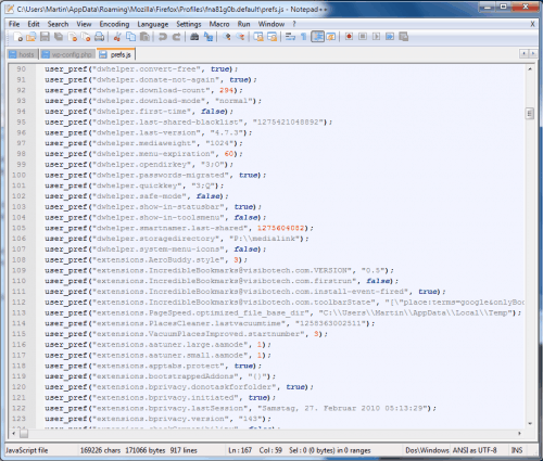 Doing Some Firefox Configuration Spring Cleaning