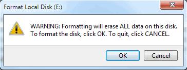 format drive