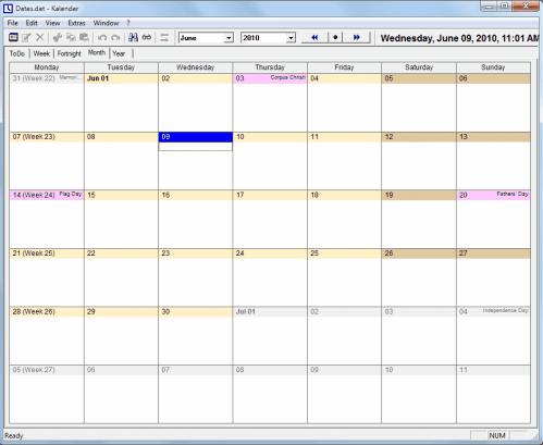 free calendar software
