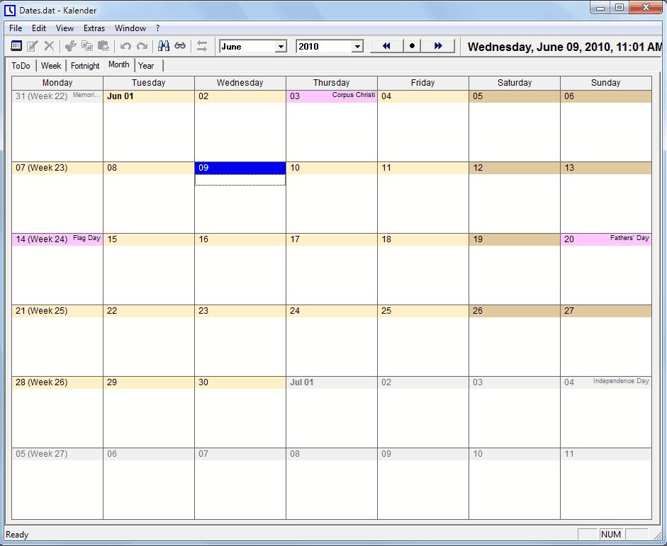 free calendar software uks kalender