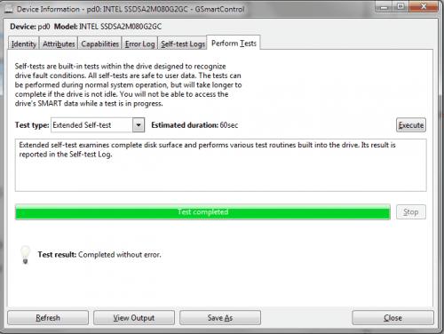 hard drive diagnostics