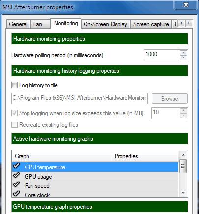 hardware monitoring