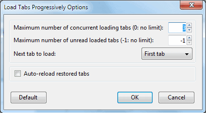 load tabs progressively
