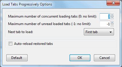 load tabs progressively