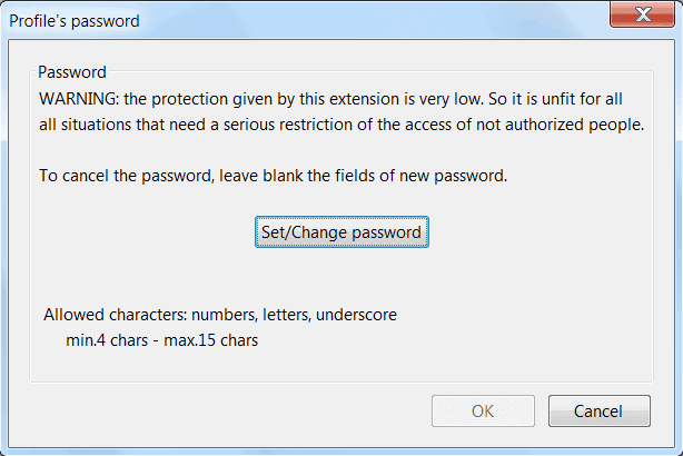 change email password in thunderbird