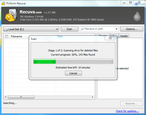 ssd file recovery