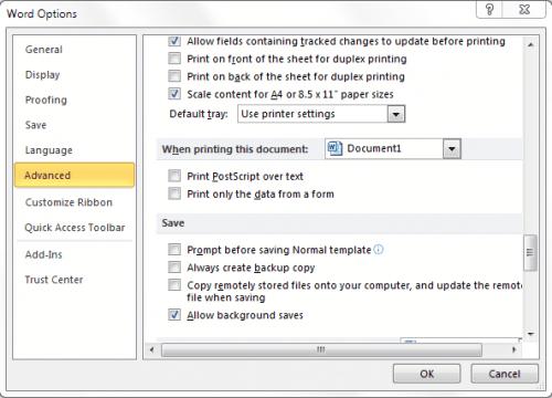 word remote document copies