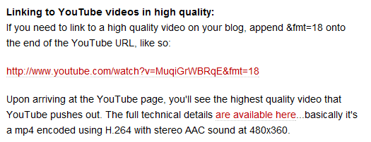 youtube video without embed