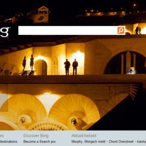 bing homepage images