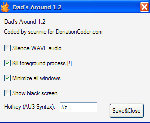Dad's Around, Windows Boss Key App