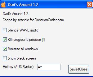 Dad's Around, Windows Boss Key App