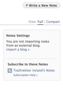 facebook import blog