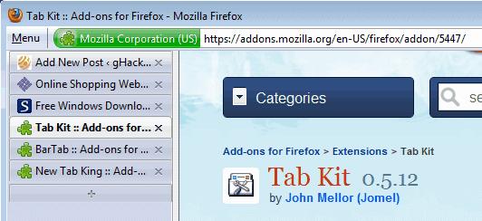 firefox tabs sidebar