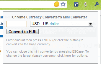 Automatically Convert Currencies On Web Pages